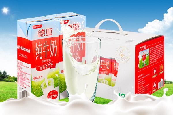 Deyatur德亚全脂牛奶礼盒装 德国原装进口 200ml*12/盒
